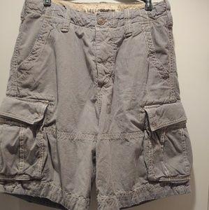 Mens Cargo Shorts A&F